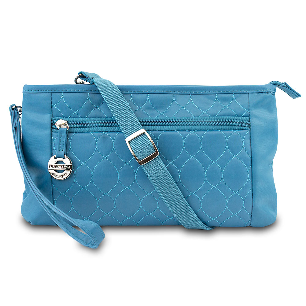 Travelon Convt. Quilted Wristlet Waist Pouch & Crossbody Bag 35