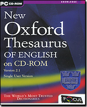 Oxford Thesaurus Of English Version 2.1