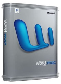 Microsoft Word 2004 Mac Upgrade