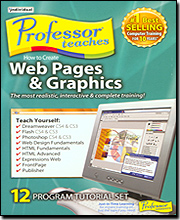 Professor Teaches How to Create Web Pages, Graphics &  Windows V6.0