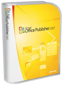Microsoft Office Publisher 2007 Upgrade